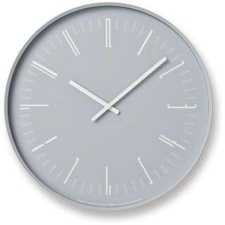 Draw wall clock gray