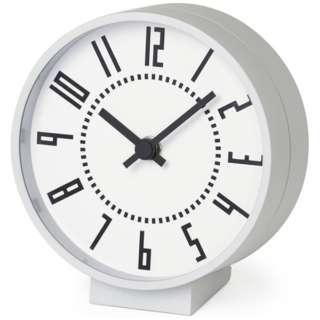 ekikurokku table clock white
