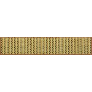 い草キッチンマット ドロップBR 80×270cm