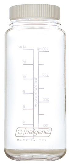 NALGENE ナルゲン nalgene 広口0.5L Tritan フラットキャップ 水筒 91256 クリアホワイト