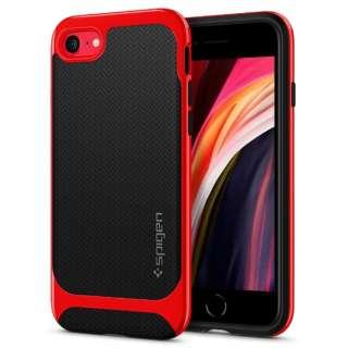 iPhone SE(第2世代)/8/7 Neo Herringbone Dante Red