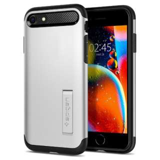 iPhone SE(第2世代)/8/7 Slim Armor Satin Silver