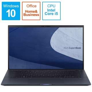 B9450FA-BM0500TS ノートパソコン ExpertBook B9 スターブラック [14.0型 /intel Core i5 /SSD:512GB /メモリ:16GB /2020年5月モデル]