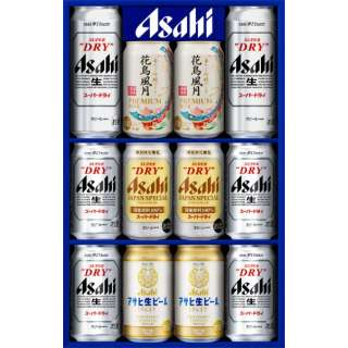 [夏ギフト] アサヒビール 4種セット AJP-3【ビールギフト】 カタログNO:5031