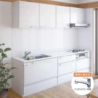 【標準工事費込・要事前見積】 戸建用キッチンリフォームCパック Treasia トレーシア