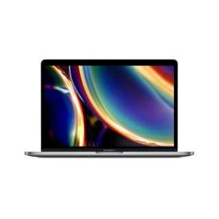 MacBookPro 13インチ Touch Bar搭載モデル[2020年/SSD 256GB/メモリ 8GB/ 第8世代の1.4GHzクアッドコアIntel Core i5プロセッサ ]スペースグレー MXK32J/A