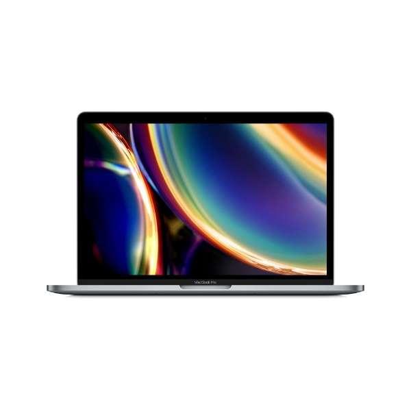 MacBookPro 13インチ Touch Bar搭載モデル[2020年/SSD 512GB/メモリ 8GB/ 第8世代の1.4GHzクアッドコアIntel Core i5プロセッサ ]スペースグレー MXK52J/A