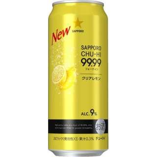 99.99(フォーナイン) クリアレモン 500ml 24本【缶チューハイ】