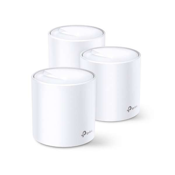 Deco X20(3-pack) Wi-Fiルーター 1201+574Mbps [Wi-Fi 6(ax)/ac/n/a/g/b]