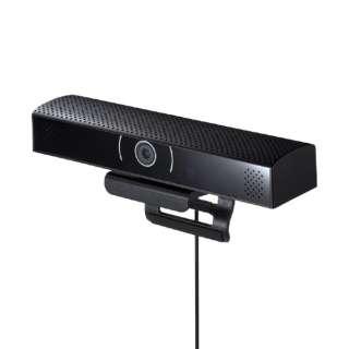 ウェブカメラ+マイク・スピーカー CMS-V48BK [有線]