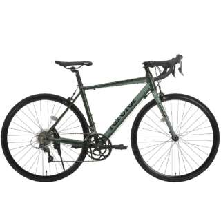 700x23C型 ロードバイク RIPSTOP RSAR-01 gallop ギャロップ(グリーン/外装16段変速) 50563【2020年モデル】 【組立商品につき返品不可】