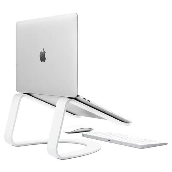ノートパソコンスタンド[MacBook対応] ホワイト TWS-ST-000062