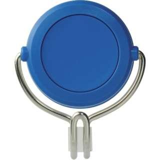 緑十字 強力マグネットフック(可動式フックタイプ) 青 48×58mm 耐荷重3kg 313016
