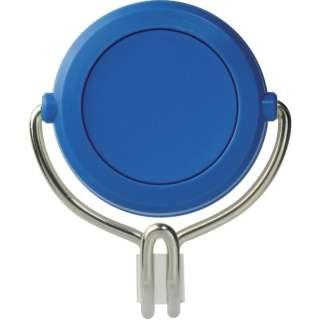 緑十字 強力マグネットフック(可動式フックタイプ) 青 60×70mm 耐荷重7kg 313019