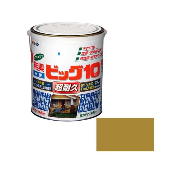 アサヒペン 水性ビッグ10多用途1.6L 238ハニーゴールド
