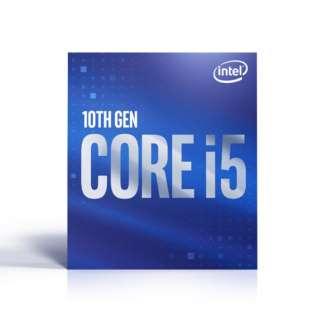 〔CPU〕 Intel Core i5-10400 BX8070110400