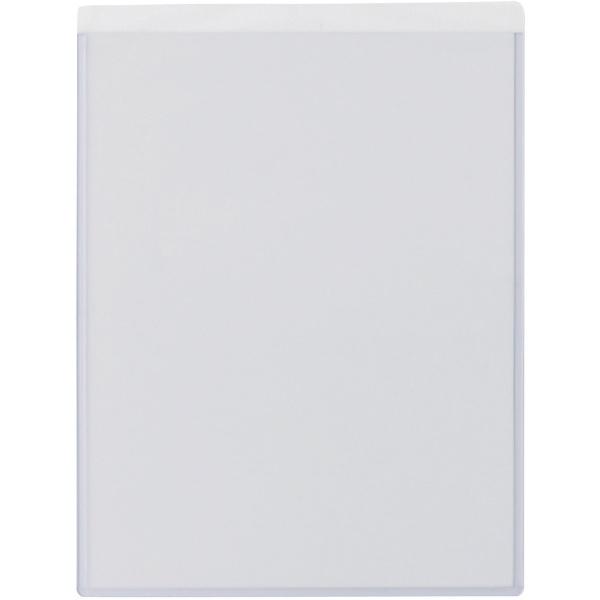 緑十字 貼れるクリアケース(A4掲示用) 312×235mm 特殊粘着タイプ 365052