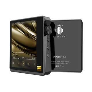 ハイレゾポータブルプレーヤー ブラック AP80PROBK [ハイレゾ対応]