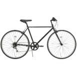 27型 クロスバイク RIPSTOP RSC-01 pace ペイス(ブラック/外装7段変速) 50549 【組立商品につき返品不可】