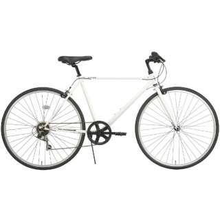 27型 クロスバイク RIPSTOP RSC-01 pace ペイス(ホワイト/外装7段変速) 50550 【組立商品につき返品不可】