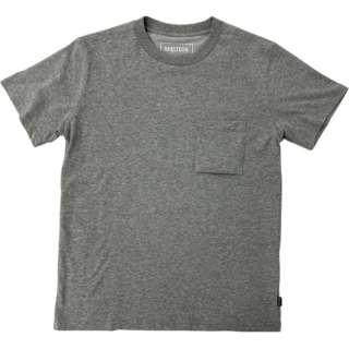 メンズ レギュラー Tシャツ(Lサイズ/ヘザーグレー) SL-001