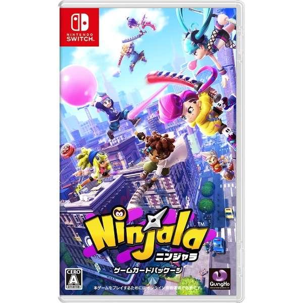ニンジャラ ゲームカードパッケージ 【Switch】