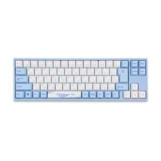 vm-va73-wbpe7hj-silver ゲーミングキーボード Sea Melody(海の音色) JIS VA73 Cherry mx シルバー軸 [USB /有線]