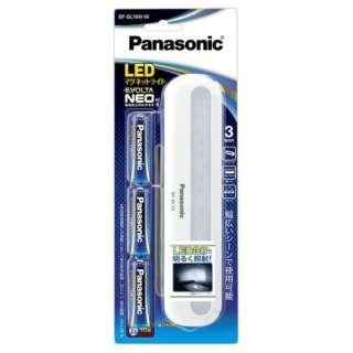 乾電池エボルタNEO付き LEDマグネットライト BF-BL10N-W