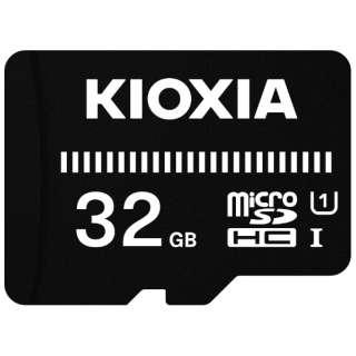microSDHCカード UHS-I EXCERIA BASIC KMUB-A032G [32GB /Class10]