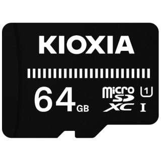 microSDXCカード UHS-I EXCERIA BASIC KMUB-A064G [64GB /Class10]