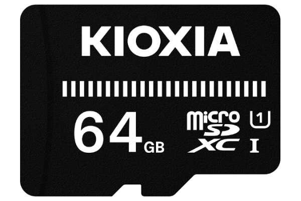 キオクシア「EXCERIA BASIC」KMUB-A064G(64GB)