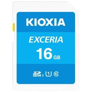 SDHCカード UHS-I EXCERIA KSDU-A016G [16GB /Class10]