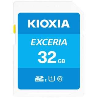 SDHCカード UHS-I EXCERIA KSDU-A032G [32GB /Class10]