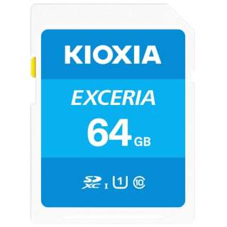 SDXCカード UHS-I EXCERIA KSDU-A064G [64GB /Class10]