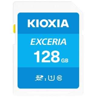 SDXCカード UHS-I EXCERIA KSDU-A128G [128GB /Class10]