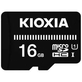 microSDHCカード UHS-I EXCERIA BASIC KMUB-A016G [16GB /Class10]