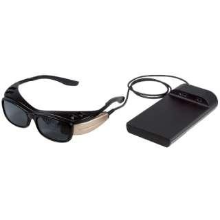網膜投影ヘッドマウントディスプレイ RETISSA Display II QLEWV01-1001
