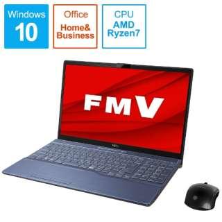 FMVA76E1LB ノートパソコン FMV LIFEBOOK AH76/E1 メタリックブルー [15.6型 /AMD Ryzen 7 /SSD:512GB /メモリ:8GB /2020年6月モデル]