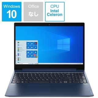 ノートパソコン IdeaPadL350 アビスブルー 81Y300J5JP [15.6型 /intel Celeron /SSD:256GB /メモリ:4GB /2020年6月モデル]