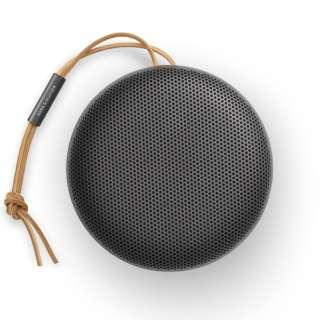 ブルートゥーススピーカー ブラック BEOSOUND-A1-2NDGEN-BLACK [Bluetooth対応 /防滴]