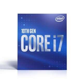 〔CPU〕 Intel Core i7-10700 BX8070110700