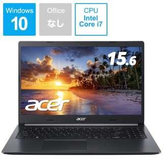 A515-54-N78Y/K ノートパソコン Aspire 5 チャコールブラック [15.6型 /intel Core i7 /SSD:512GB /メモリ:8GB /2020年5月モデル]
