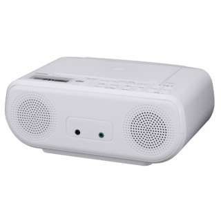 CDラジオ TY-C160-W ホワイト [ワイドFM対応]