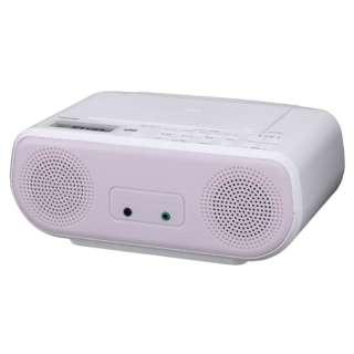 CDラジオ TY-C160-P ピンク [ワイドFM対応]