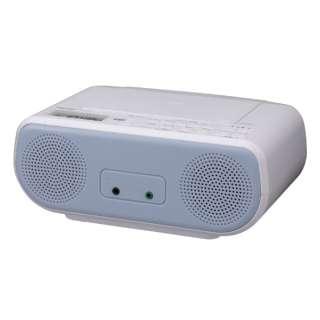 CDラジオ TY-C160-L ブルー [ワイドFM対応]