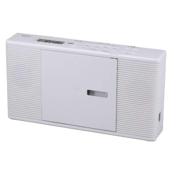 CDラジオ TY-C260-W ホワイト [ワイドFM対応]