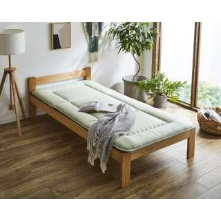 森の眠り 敷布団ダブルサイズ(グリーン)