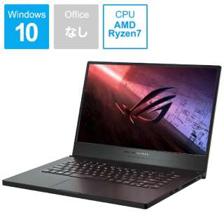 GA502IV-R7R2060 ゲーミングノートパソコン ROG Zephyrus G15 ブラック [15.6型 /AMD Ryzen 7 /SSD:512GB /メモリ:16GB /2020年5月モデル]