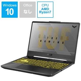 FA506IH-R7G1650 ゲーミングノートパソコン TUF Gaming A15 フォートレス・グレイ [15.6型 /AMD Ryzen 7 /SSD:512GB /メモリ:16GB /2020年6月モデル]