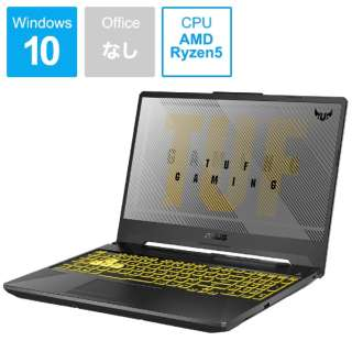 FA506IH-R5G1650 ゲーミングノートパソコン TUF Gaming A15 フォートレス・グレイ [15.6型 /AMD Ryzen 5 /SSD:512GB /メモリ:8GB /2020年6月モデル]